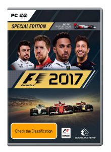 F1 2017 Australian box art PC