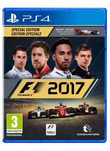 F1 2017 B-N-L box art PS4
