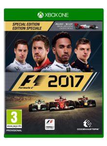 F1 2017 B-N-L box art Xbox